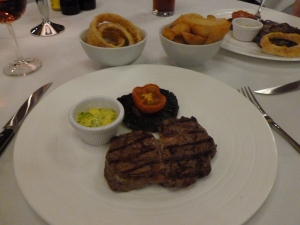 Steak and sides - a perfect sight