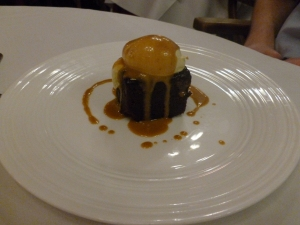 Delectable dessert of Sticky Toffee Pudding
