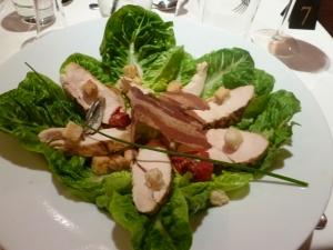 Chicken Caesar Salad for a fresh start