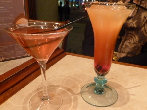 Anywhere that serves cocktails is a hit with us!