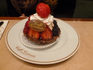 Mountain of creamy goodness - Mixed Berry Tart