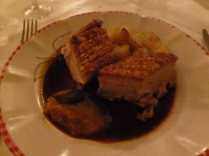 Thick and tender Pork Belly - divine