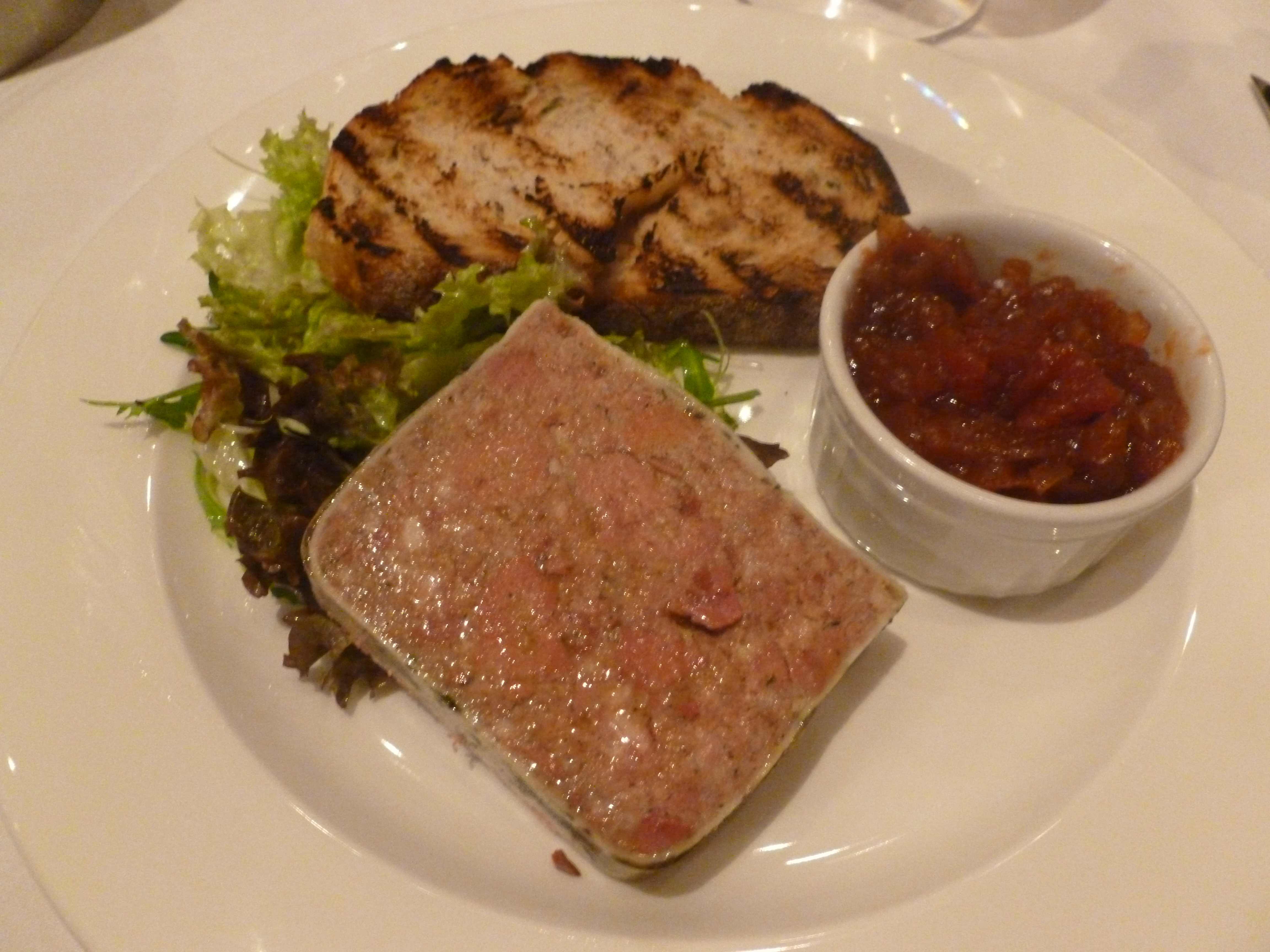 Divine starter of Chicken Liver Pate