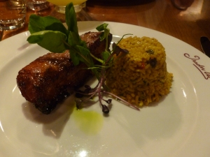 Sticky Pork Belly with Bali Rice