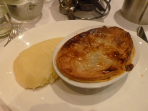 Traditional Pie and Mash