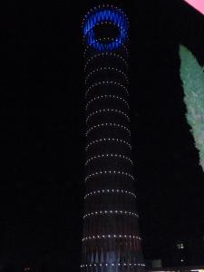 Statement tower