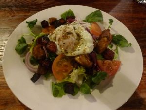 Rabbit and Chorizo Salad
