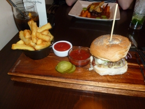The Burger and Chips