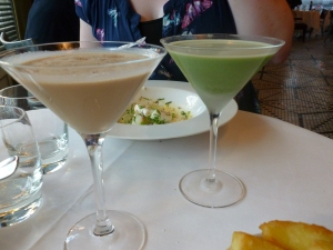 Brazilian Monkey and Pistachio Lover Cocktails
