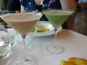 Brazilian Monkey and Pistachio Lover Cocktails