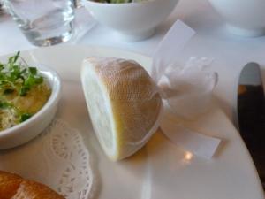 Thoughtfully prepared lemon segment