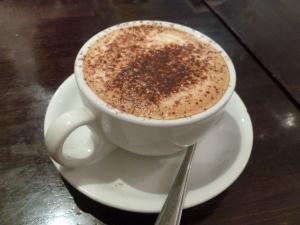 Coffee to finish