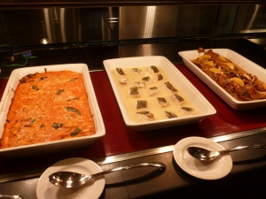 Cannelloni, Sea Bass and Duck Mains