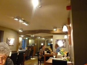 Roomy restaurant