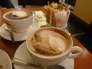 Classy cappuccinos