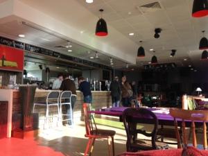 Inside Cult Cafe