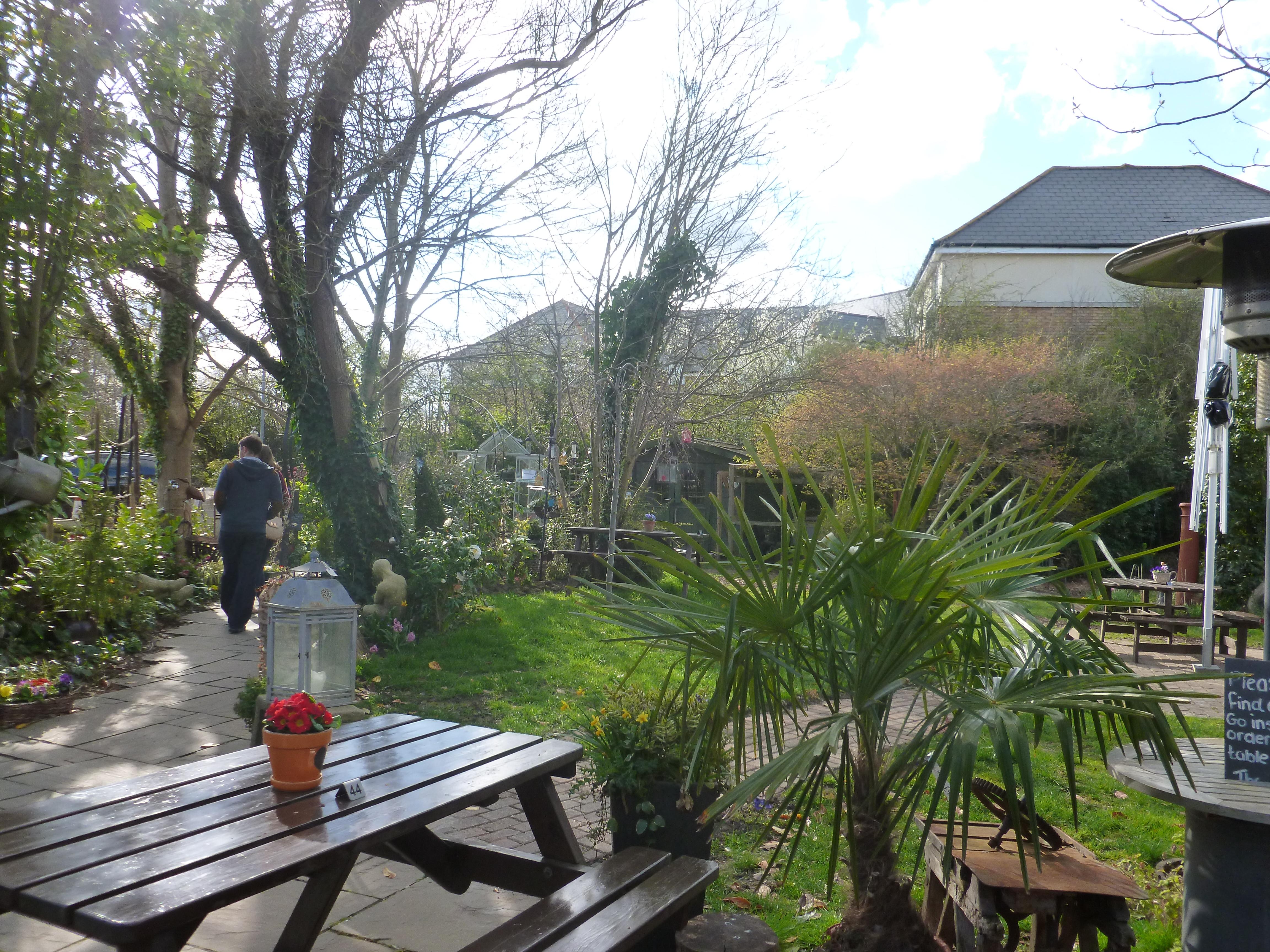 Green Coffee Wowcher Garden Area