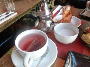 Turkish Apple Tea and Mint Tea