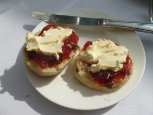 The best way to eat scones
