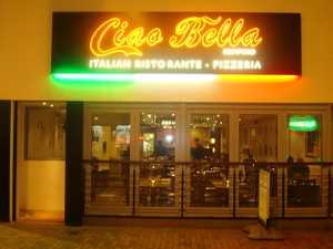 Outside Ciao Bella