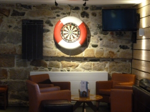 Nautical dart board