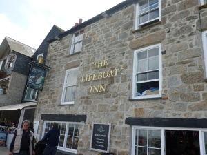 Outside The Lifeboat Inn
