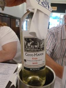 Delicious white wine