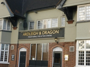 Outside The Ardleigh and Dragon