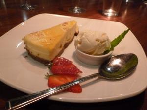 Jess's cheesecake