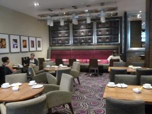 Inside Doubletree Hilton Victoria