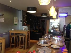 Inside Cafe Enzo