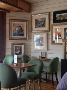 Inside Cafe Baccarat