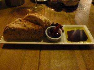 Bread, Olives and Oil