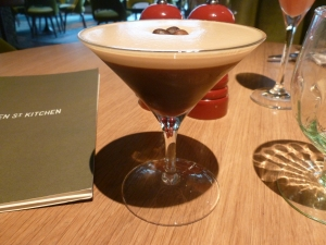 My Expresso Martini - heaven in liquid form!