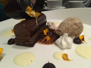 Chocolate cappuccino dessert