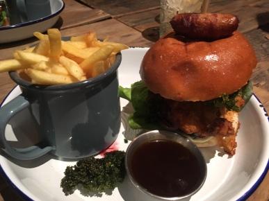 Eating Around: Lazybones Farringdon, Farringdon,London